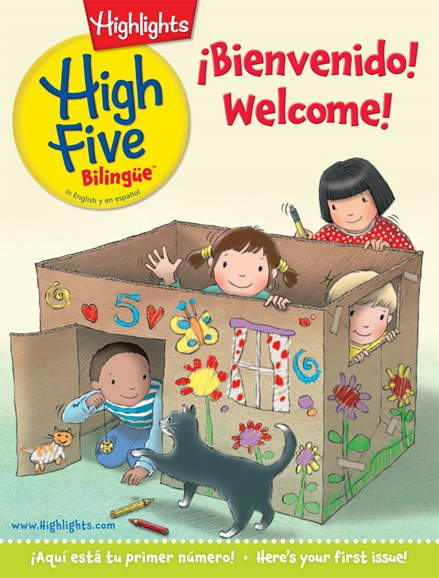 Highlights High Five Bilingue Cover - 9/1/2014