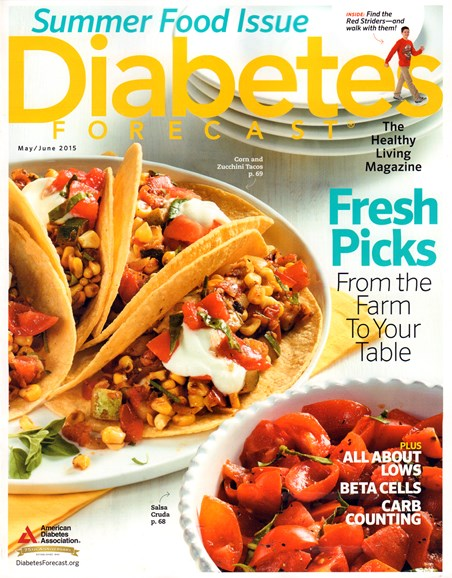 Diabetes Forecast Cover - 5/1/2015