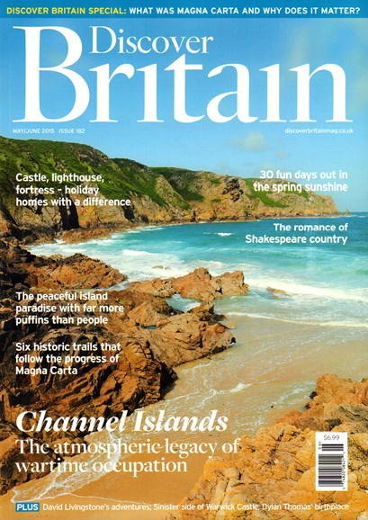 Discover Britain Cover - 5/1/2015