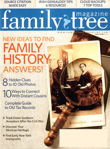 Family Tree Cover - 5/1/2015