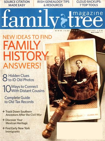 Family Tree Cover - 5/1/2015