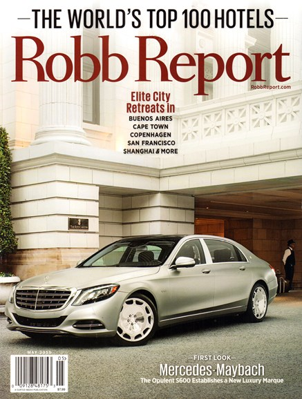 Robb Report Cover - 5/1/2015