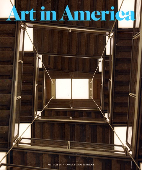 Art In America Cover - 5/1/2015