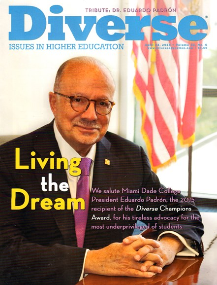 Diverse: Issues In Higher Education Cover - 5/23/2015