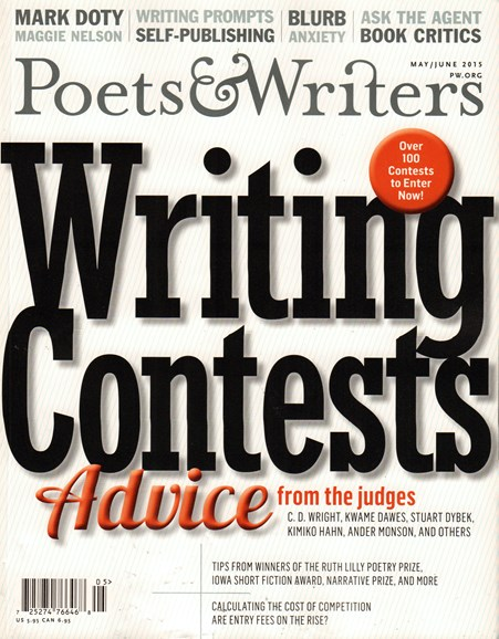 Poets & Writers Cover - 5/1/2015