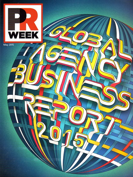 PRWeek Cover - 5/1/2015