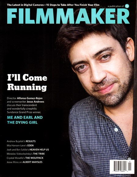 Filmmaker: The Magazine Of Independent Film Cover - 4/1/2015