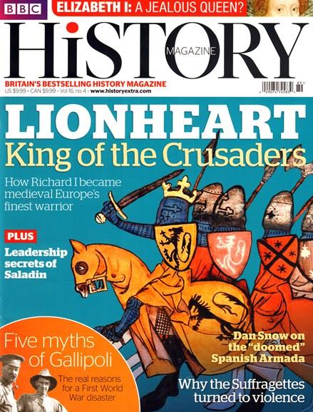 BBC History Cover - 4/1/2015