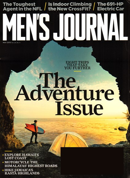 Men's Journal Cover - 5/1/2015