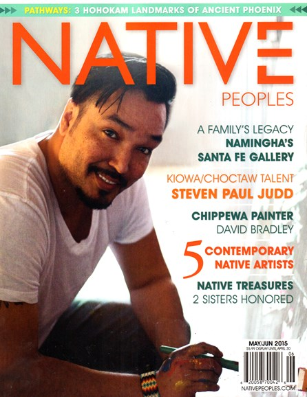 Native Peoples Cover - 5/1/2015