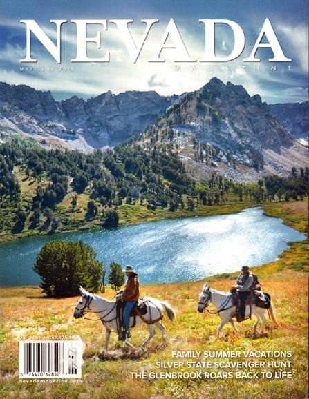 Nevada Magazine Cover - 5/1/2015