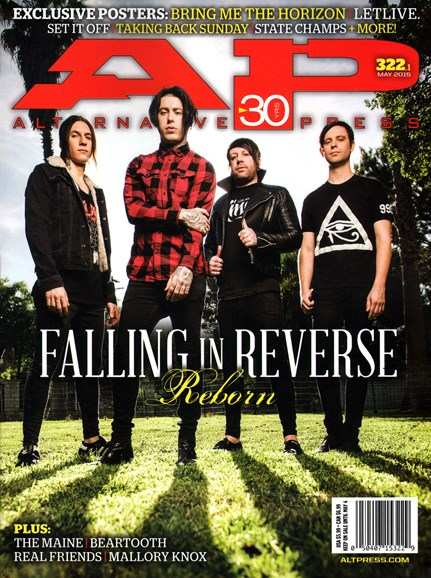 Alternative Press Cover - 5/1/2015