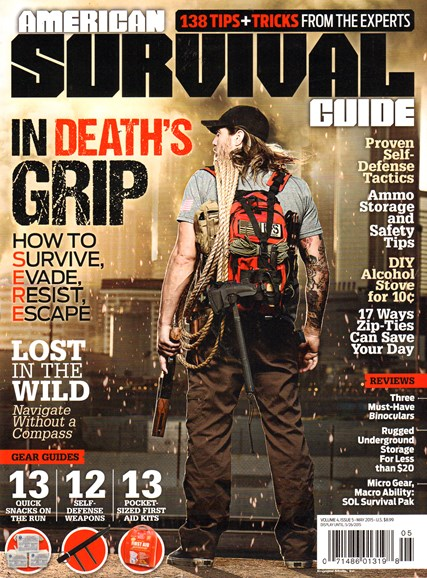American Survival Guide Cover - 5/1/2015