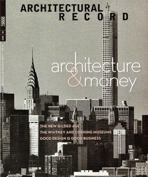 Architectural Record Cover - 5/1/2015