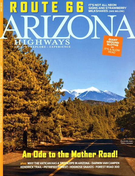Arizona Highways Cover - 5/1/2015