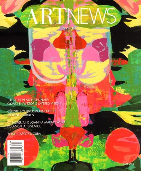 ARTnews Cover - 5/1/2015