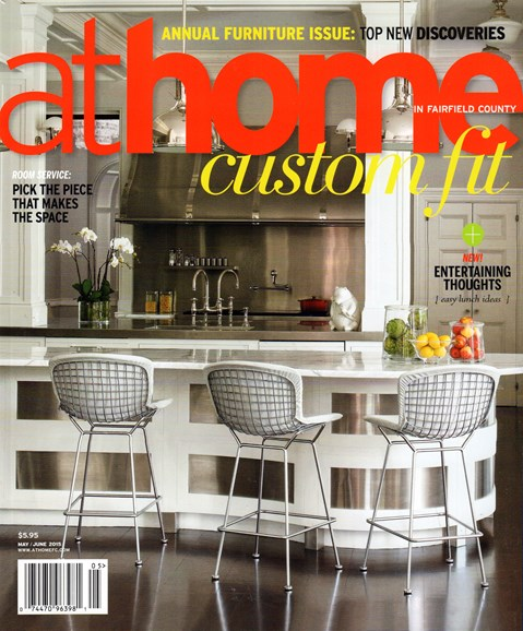 At Home in Fairfield County Cover - 5/1/2015