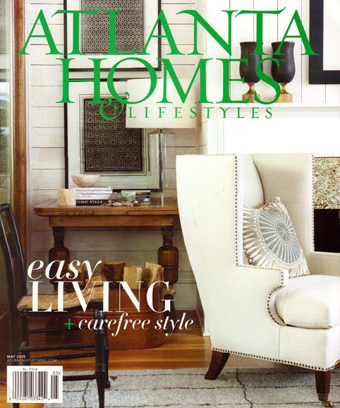 Atlanta Homes & Lifestyles Cover - 5/1/2015