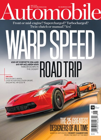 Automobile Cover - 5/1/2015