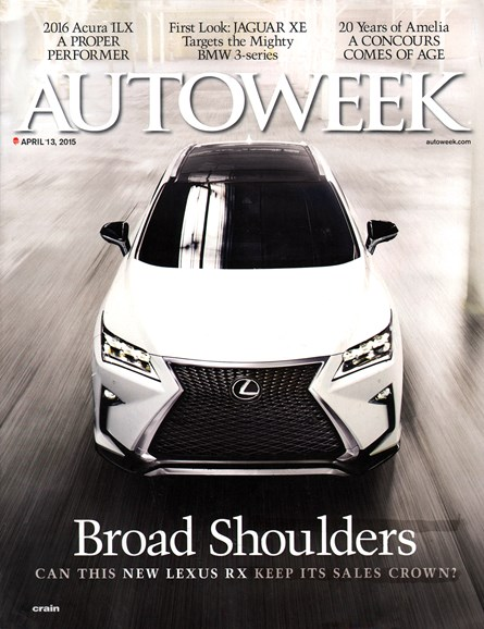 Autoweek Cover - 4/13/2015