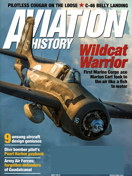 Aviation History Cover - 5/1/2015