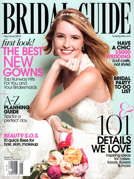 Bridal Guide Cover - 5/1/2015