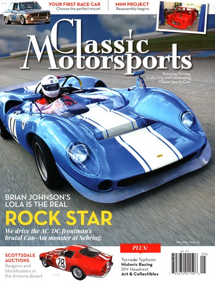 Classic Motorsports Cover - 5/1/2015