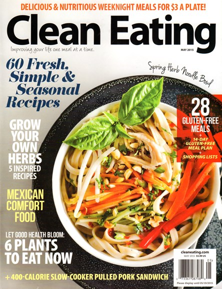 Clean Eating Cover - 5/1/2015