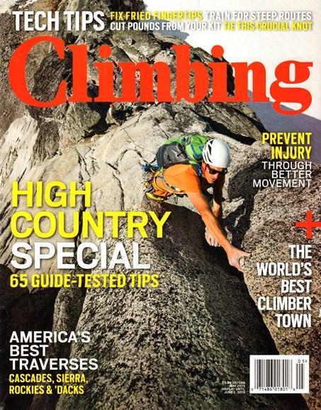 Climbing Magazine Cover - 5/1/2015