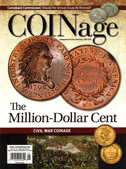 Coinage Cover - 5/1/2015