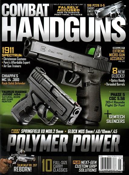 Combat Handguns Cover - 5/1/2015