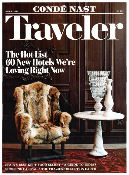 Condé Nast Traveler Cover - 5/1/2015