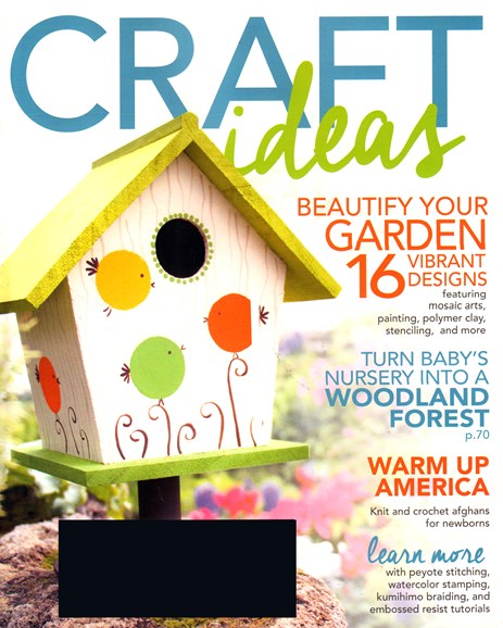 Craft Ideas Cover - 5/1/2015