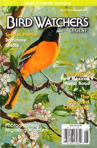 Bird Watcher's Digest Cover - 5/1/2015