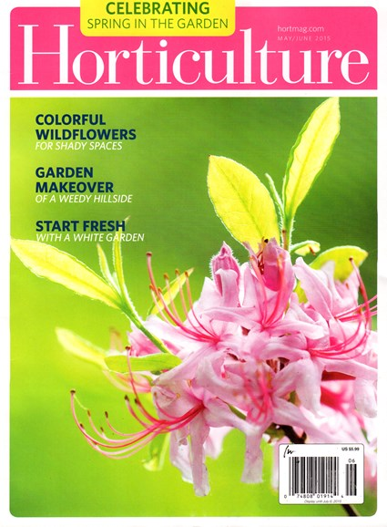 Horticulture Cover - 5/1/2015