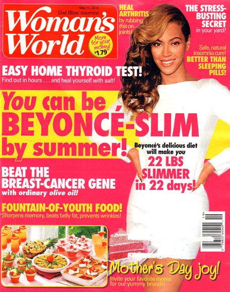 Woman's World Cover - 5/11/2015