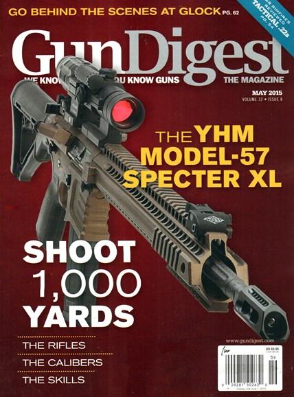 Gun Digest Cover - 5/1/2015