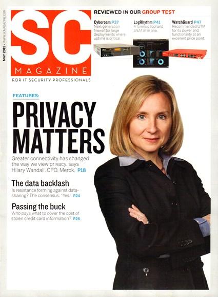 SC Magazine - U.S. edition Cover - 5/1/2015