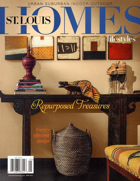 St. Louis Homes & Lifestyles Cover - 5/1/2015