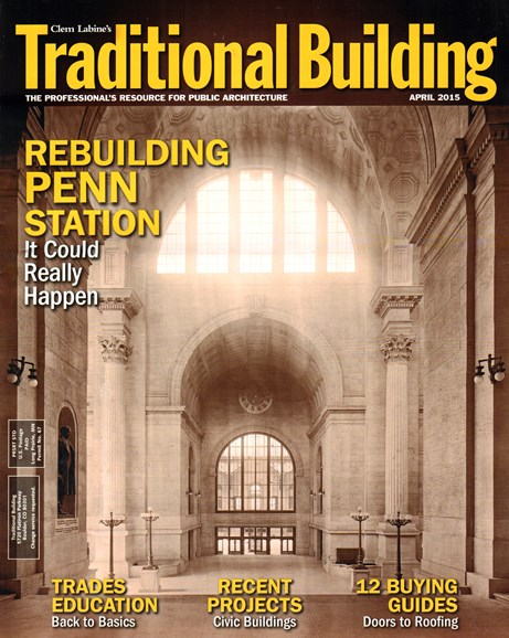 Traditional Building Cover - 4/1/2015
