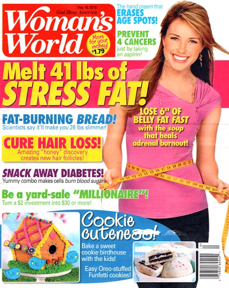 Woman's World Cover - 5/18/2015