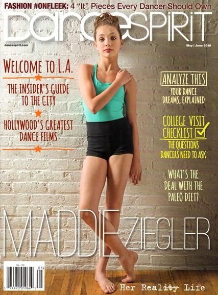 Dance Spirit Cover - 5/1/2015