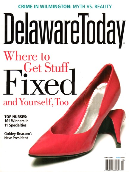 Delaware Today Cover - 5/1/2015