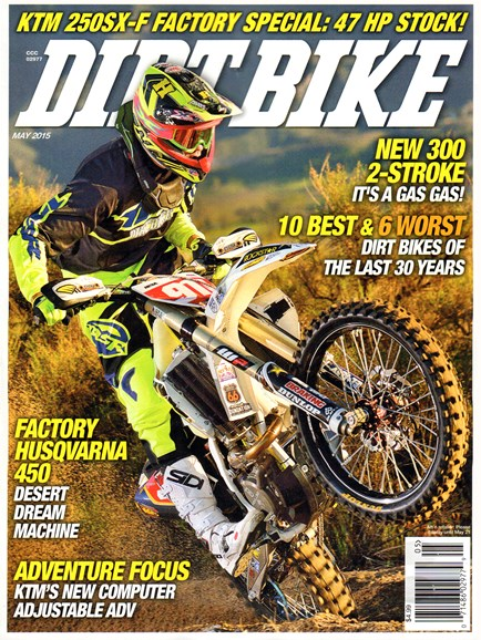 Dirt Bike Cover - 5/1/2015
