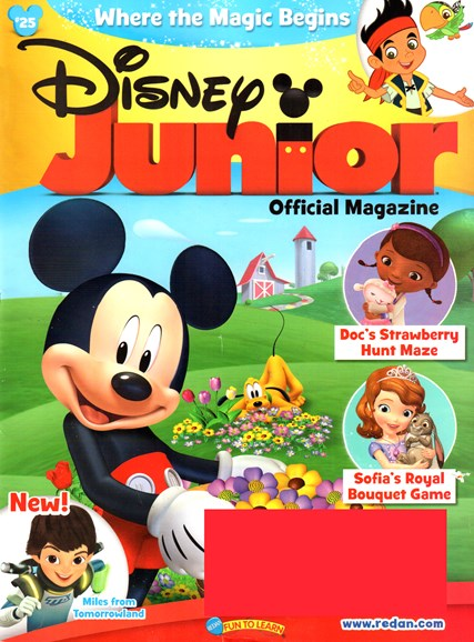 Disney Junior Cover - 5/1/2015