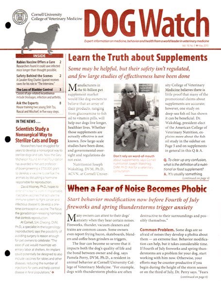 Dogwatch Cover - 5/1/2015