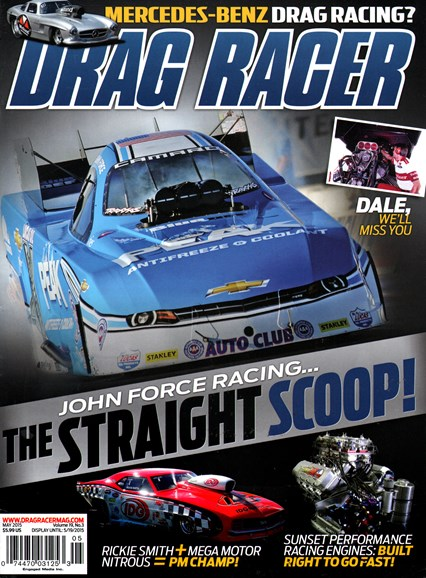 Drag Racer Cover - 5/1/2015