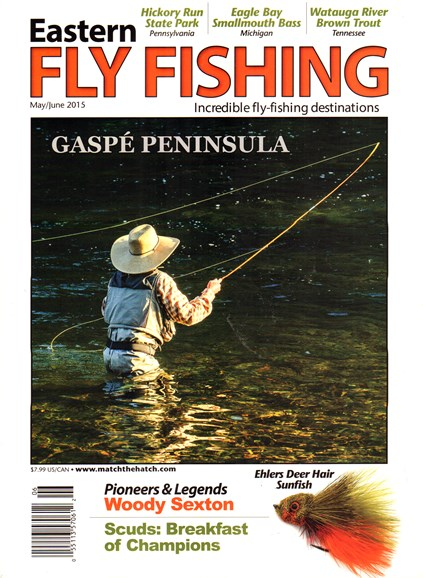 Eastern Fly Fishing Cover - 5/1/2015
