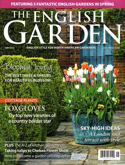 The English Garden Cover - 5/1/2015