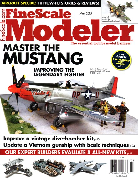 Finescale Modeler Cover - 5/1/2015
